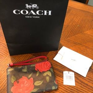 NWOT tags attached Coach wristlet